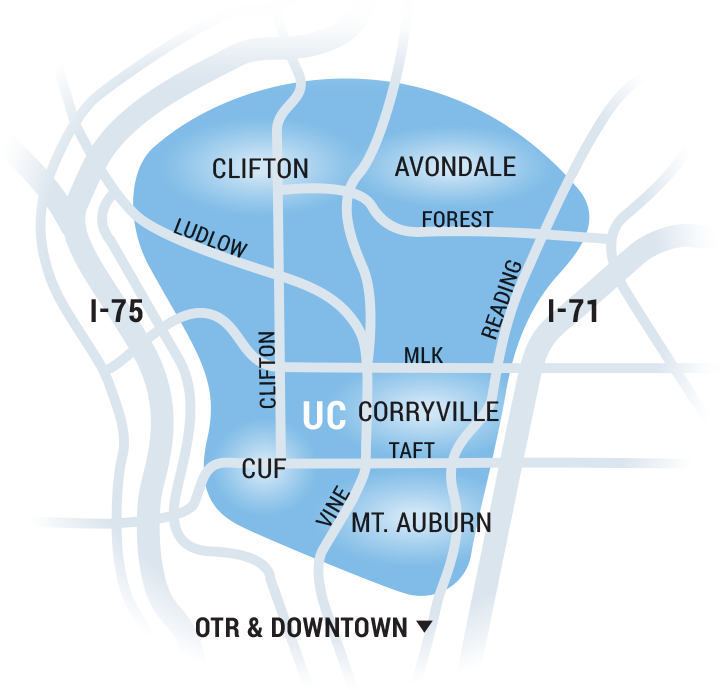 Uptown Map