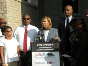 Live Uptown Down Payment Assistance Program press conference