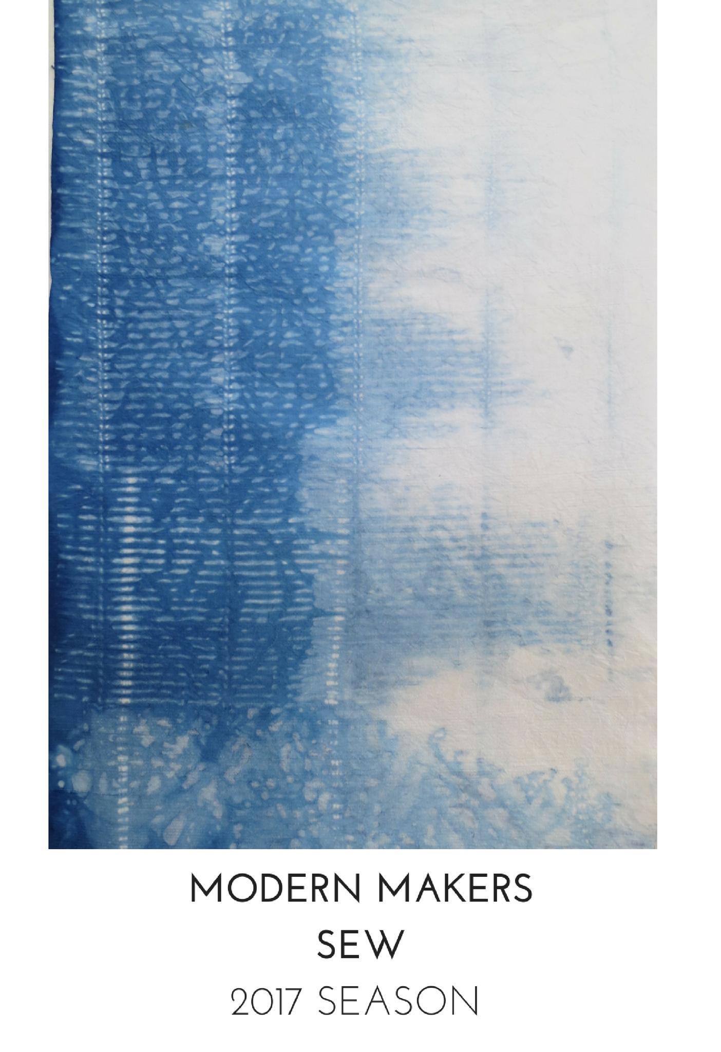 Modern Makers Sewing Workshops